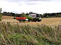 Combine harvester at Hartwoodburn - geograph.org.uk - 1533370.jpg