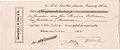 Commerzbank J. W. Junker & Co., Windau Branch. Check (Promissory Note) 35 Rubles 1914.jpg