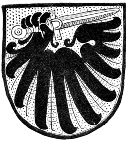 Fig. 443.—Arms of Duke of Calabria.