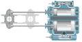 Compound engine with both piston and slide valves Woolf.png