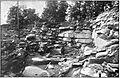 Concentric shells of granite PlateXLIII Keyes 1895.jpg