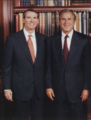 Congressman Rob Portman and President George W. Bush.png