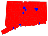 Connecticut Gubernatorial Election Results by municipality, 2006.png