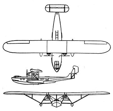 Consolidated Commodore 3-view L'Aerophile April 1932