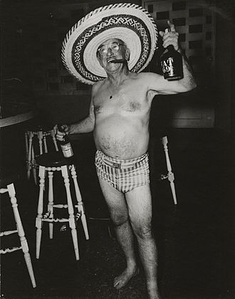 Ugly American (pejorative) - Constantino Arias' photo titled Ugly American, showing a late-1940s Batista-era tourist in Havana, Cuba.