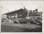 Construction of southern approach to the Sydney Harbour Bridge, 1927 (8282707249).jpg