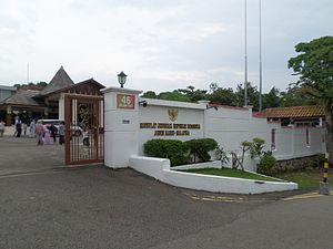 Indonesia–Malaysia relations - Consulate-General of the Republic of Indonesia in Johor Bahru.