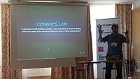 Conway's Law - Wikimedia Hackathon 2017.jpg