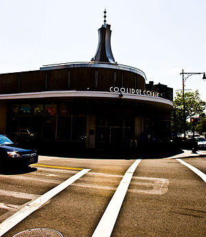 Coolidge Corner - Coolidge Corner sign