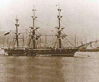 Esmeralda (1855) - Corbeta Esmeralda