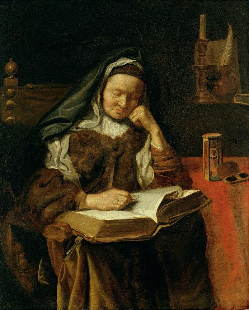 Cornelis Bisschop - Old Woman Sleeping.jpg