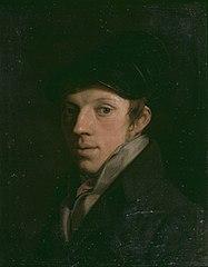 Portrait of the painter Pierre-François Jacobs