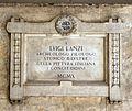 Corridonia, comune e monumento ai caduti, lapide a luigi lanzi.jpg