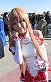 Cosplayer of Asuna, Sword Art Online 20121228.jpg