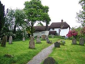 Ashton, Devon - Image: Cottages, Higher Ashton geograph.org.uk 1391529