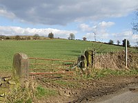 Countryside southeast of Wirksworth, Derbyshire (geograph 150268).jpg