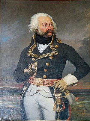 "Adam Philippe, Comte de Custine - The General, affectionately known as ""the Mustaches""."
