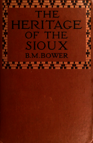 Cover - The heritage of the Sioux.png