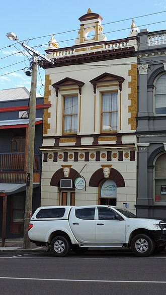 Crawford and Co Building - Image: Crawford and Co Building, Gympie, 2015