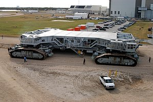 Marion Power Shovel Company - One of two crawler-transporters built by Marion and used by NASA for transporting rockets