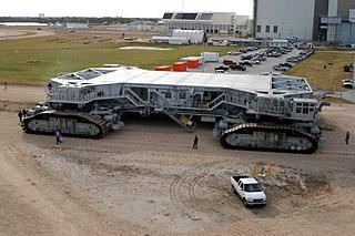 Crawler-transporter NASA rocket transport vehicle