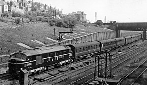 George Ivatt - LMS 10000 at Cricklewood in 1948