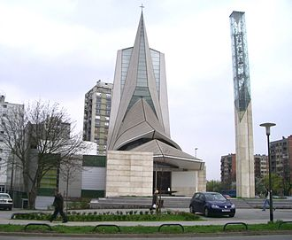 Boris Magaš - Church of Saint Augustin Kažotić in Zagreb, 1998