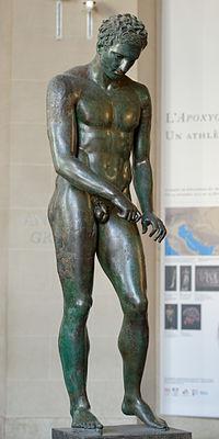 Croatian Apoxyomenos Louvre n02.jpg