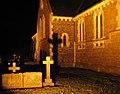Cross shadow on St Peter's Church.jpg