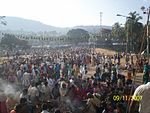 Crowd at male mahadeshwara hills