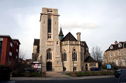 Croydon, Church of St. Mary Magdalene with St. Martin, Canning Road - geograph.org.uk - 1734213