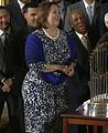 Cubs visit to the White House, Laura Ricketts (03).jpg
