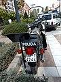 Cuerpo Nacional de Policía (España), motocicleta Sanglas 400, Policía Armada, DGP-Y4244 (44035823735).jpg