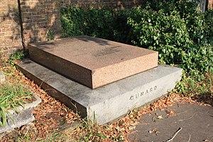 Samuel Cunard - Cunard's grave, Brompton Cemetery, London