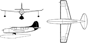 Curtiss SO3C Seagull drawings