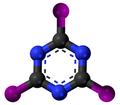 Cyanuric iodide3D.png