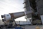 Cygnus CRS OA-6 Atlas V rocket first stage (25565121886).jpg