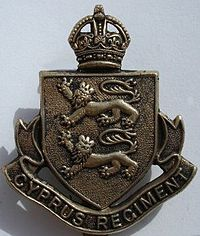 Cap badge of the Cyprus Regiment