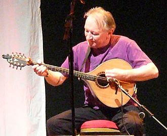 Dónal Lunny - Lunny playing the bouzouki 2012