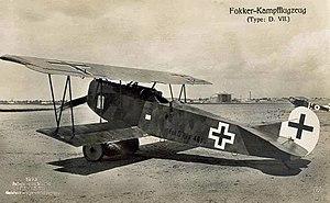 Fokker D.VII - Fokker D.VII (F)