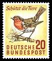 DBP 275 Schützt die Tiere 20 Pf 1957.jpg