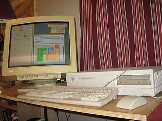 OpenVMS - VAXstation 4000 model 96 running OpenVMS 6.1 and DECwindows