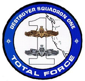 Destroyer Squadron 1 - Current Destroyer Squadron One insignia