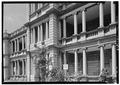 DETAIL OF NORTHEAST ELEVATION FROM NORTH - Aliiolani Hale, 463 King Street, Honolulu, Honolulu County, HI HABS HI,2-HONLU,3-8.tif