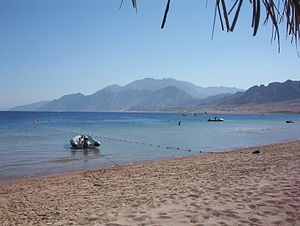 Red Sea Riviera - Dahab shoreline