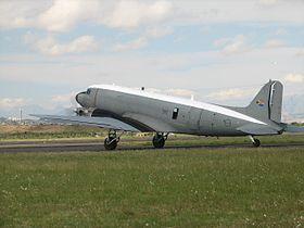 Dakota C-47 at Ysterplaat Airshow, Cape Town.jpg