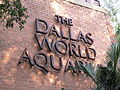 Dallas World Aquarium Sign.JPG