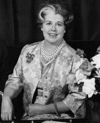Zara Bate - Dame Zara Holt in 1950