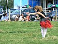 Dancer at the Cricklade Show, Cricklade - geograph.org.uk - 537405.jpg
