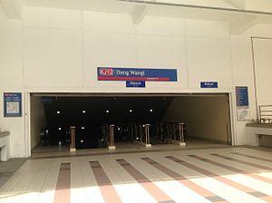 Dang Wangi LRT station - Image: Dang Wangi 3